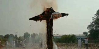 Govt Effigies Burnt