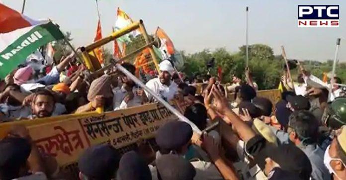 Farmers protesting against 'anti-farmer bills' lathi-charged in Sirsa