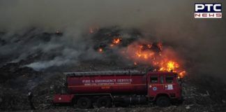 Fire breaks out at Dadu Majra dumping ground in Chandigarh