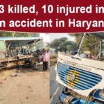 Haryana accident