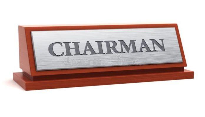 New Board Chairman