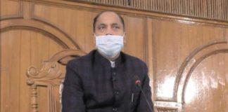 Himachal Pradesh CM Jai Ram Thakur self-isolated himself for three days