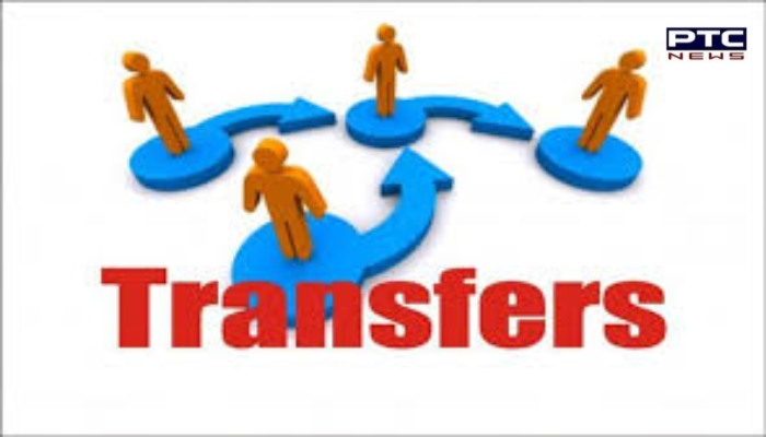 Punjab govt transfers 5 IAS officers