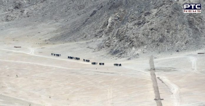 Chinese soldier who strayed across LAC handed over to Beijing