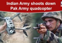 Pakistan Army quadcopter shot down by Indian Army in Jammu and Kashmir