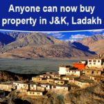 MHA notifies land law; now anyone can buy land in Jammu and Kashmir, Ladakh
