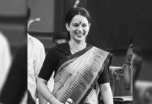 Kangana Ranaut Shares Picture From Thalaivi Film Based on Jayaram Jayalalithaa