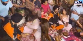 Watch: Neha Kakkar and Rohanpreet Singh perform 'ring finding' ceremony
