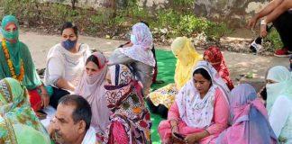 PTI Teacher Protest in Jhajjar | Haryana News in Hindi