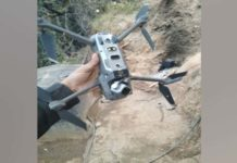 Pakistan Amry quadcopter