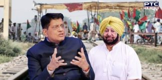 Railways Minister Piyush Goyal writes to Punjab CM to ensure complete resumption of railway services