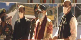 Prime Minister Narendra Modi inaugurates Atal Tunnel