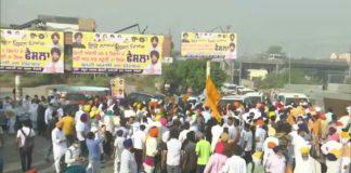 Punjab: Kisan March,