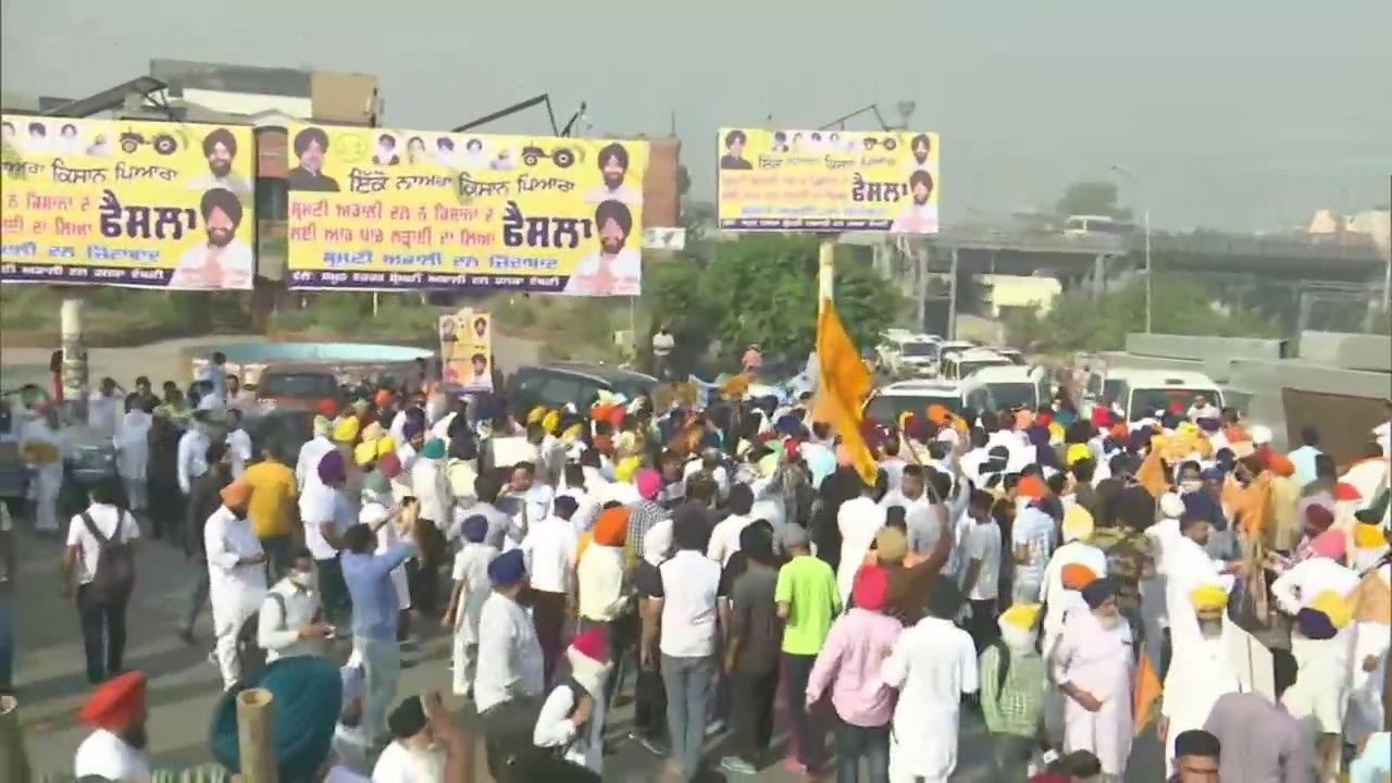 Punjab: Kisan March, led by Sukhbir Badal, begins from Amritsar