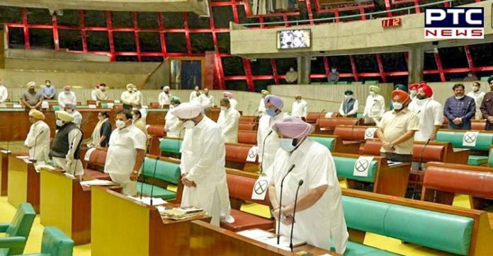 Punjab CM leads House in paying homage to farmers who died in protests