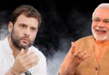 """""""Kise mile achhe din?"""" Rahul Gandhi asks PM Narendra Modi"""