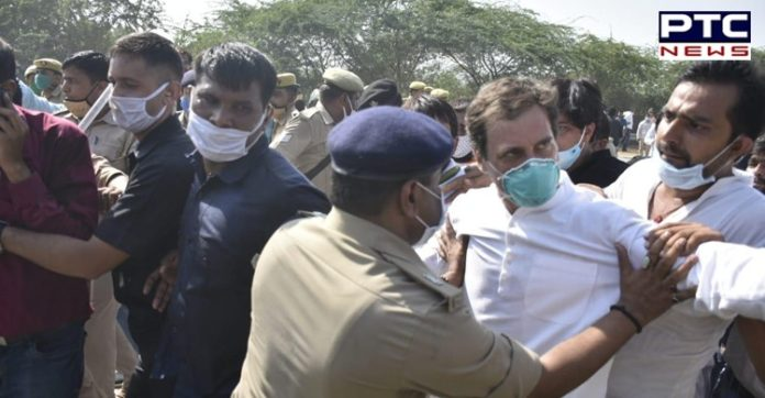 Congress leader Rahul Gandhi arrested by UP police while on his way to Hathras
