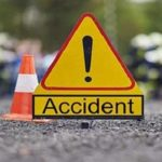 Baghapurana: Road Accident last night, father killed, girl seriously injured