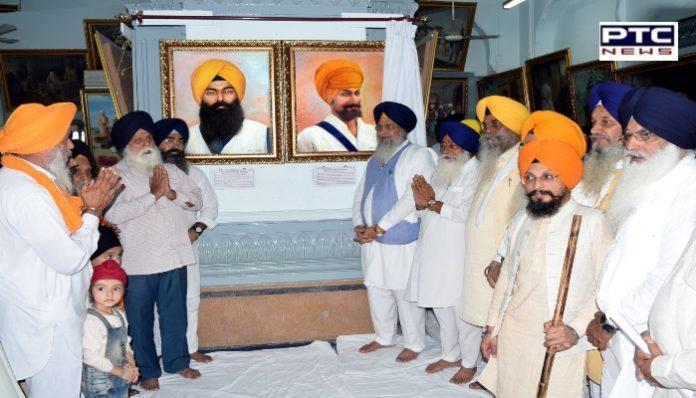 Shaheed Bhai Avtar Singh Parowal and Shaheed Bhai Mahinga Singh at Pictures Central Sikh Museum Amritsar