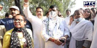 Uttar Pradesh: Ink thrown at AAP leader Sanjay Singh in Hathras