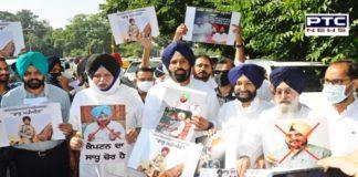 SAD MLAs walk out of Vidhan Sabha on issue Scholarship scam against Sadhu Singh Dharamsot