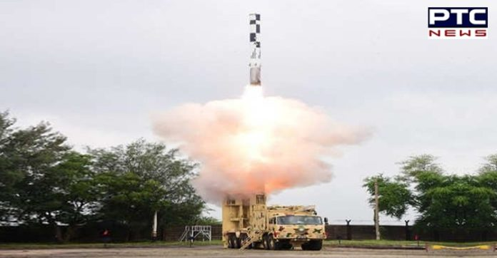 India successfully test-fires new version of nuclear-capable Shaurya missile