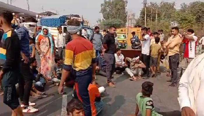 Road Jam in Ballabhgarh