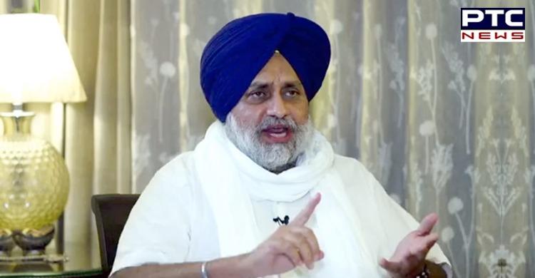 Sukhbir Singh Badal accused Captain Amarinder Singh as he failed to approach Piyush Goyal to restart train services in Punjab.