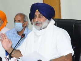 Sukhbir Badal says Centre should not victimize Punjab farmers for protesting against farm laws 2020