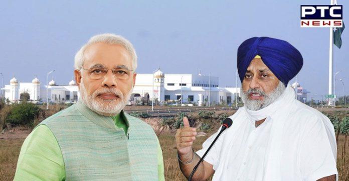 Sukhbir Badal requests PM Narendra Modi to reopen the Kartarpur Corridor
