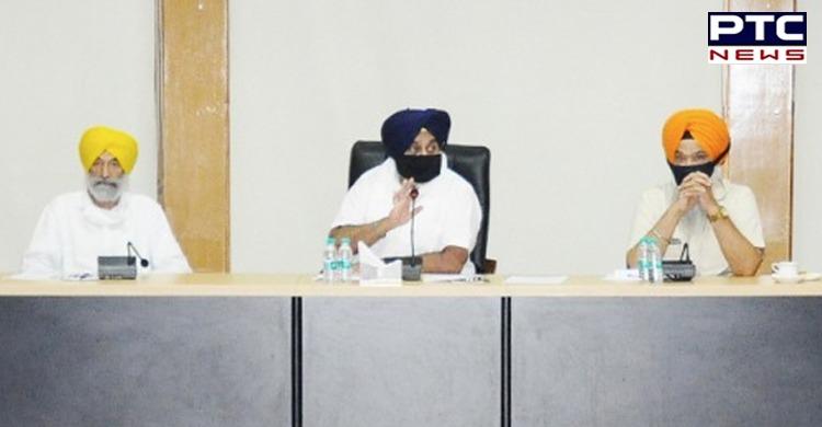 Golden temple: Sukhbir Singh Badal assails Narendra Modi , Captain Amarinder Singh on farm laws