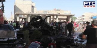 14 killed in an explosive bombing in Northern Syrian Town
