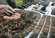 Terrorist hideout exposed in Kashmir, weapons recovered