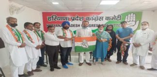 This Haryana BJP Leader Joins Congress Haryana News
