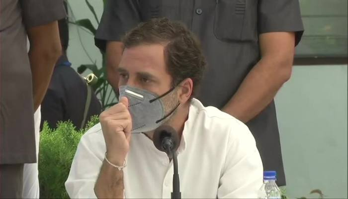 Three ordinances will end the traditional structure of farming says Rahul Gandhi