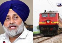 Demands immediate resumption of goods train services in punjab