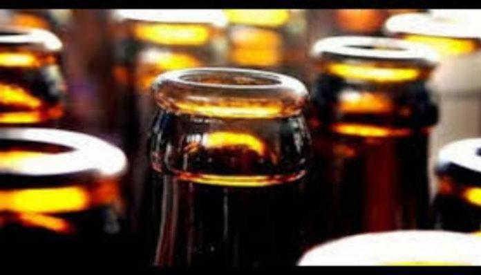 Illegal liquor bottles seized