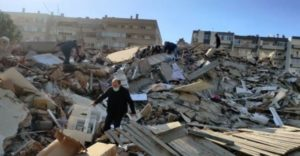 Four dead, 120 injured in Turkey after major earthquake
