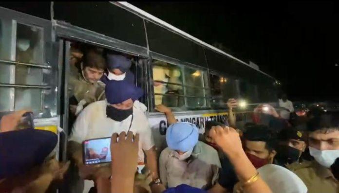 Sukhbir Badal, Bikram Majithia among other SAD leaders detained; protestors laathi charged