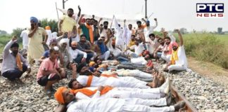 Kisan Mazdoor Sangharsh Committee extends 'rail roko' agitation