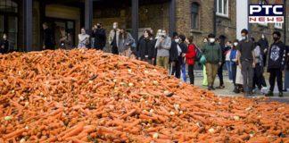 29 Tonnes Of Carrots Were Dumped On A London Street