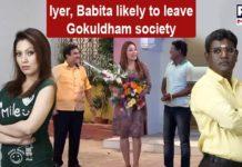 Jethalal sad after Iyer and Babita decides to leave Gokuldham society