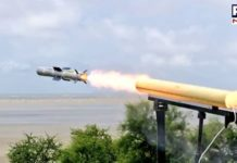 India successfully test fires Nag anti-tank missile