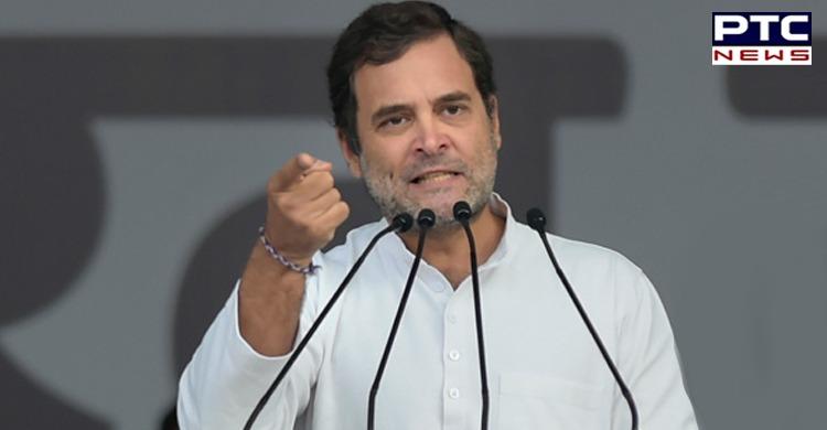 "Rahul Gandhi slammed PM Narendra Modi over ""unplanned lockdown"" in the wake of coronavirus that ""pushed millions into poverty"" in India."