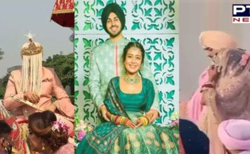 Neha Kakkar marries Rohanpreet Singh in a traditional ceremony [Video]