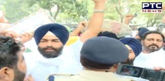 Youth Akali Dal leaders and workers Arrested by Delhi police