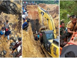 11 killed as landslides hit illegal coal mine in Indonesia's South Sumatra