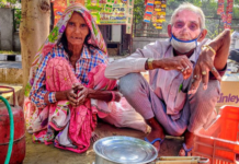 70-year-old tea-seller from Delhi