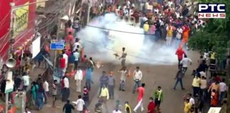 West Bengal: Clashes break out in BJP's March to Nabanna, cops use tear gas
