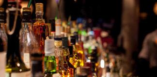 Liquor sales decline